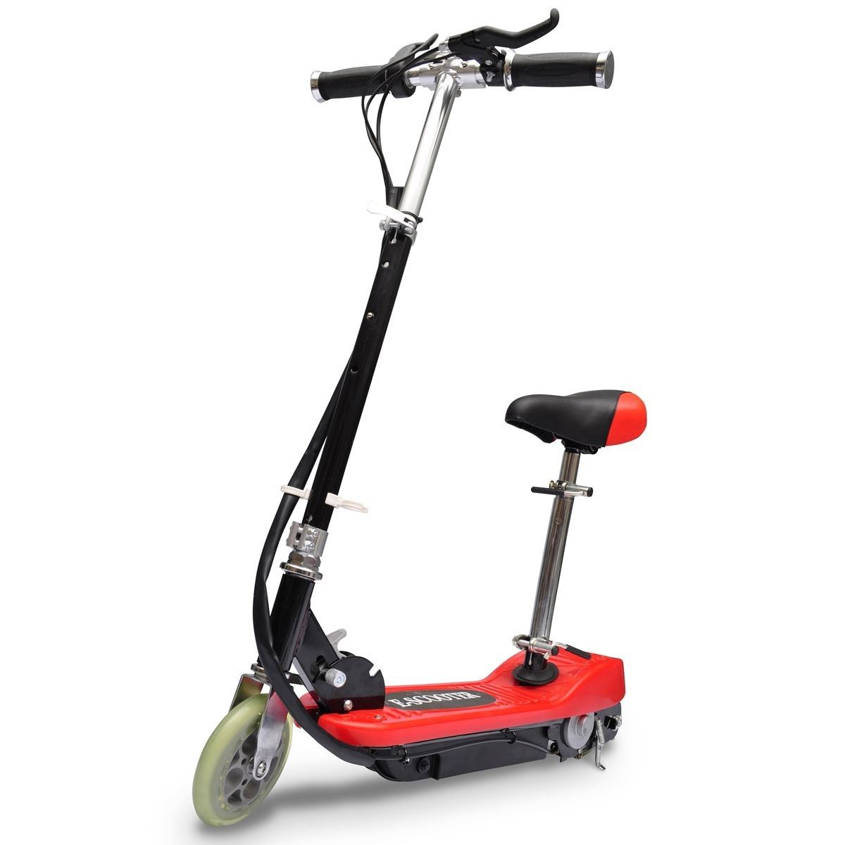 New electric scooter bike for teenagers 120w with seat for Motorized scooters for teenager