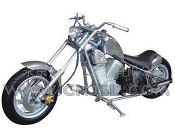 49cc 2 stroke 1 cylinder mini chopper jsl gs 33. Black Bedroom Furniture Sets. Home Design Ideas