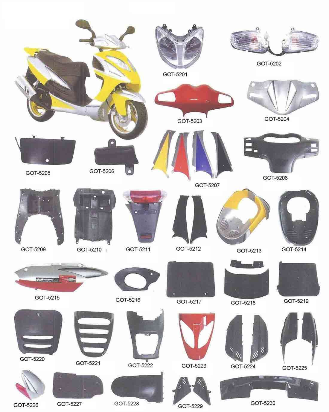 How to buying motorcycle parts from China