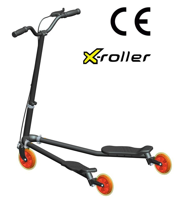 Drifting 3 Wheels Tri Scooter And Triski Scooter