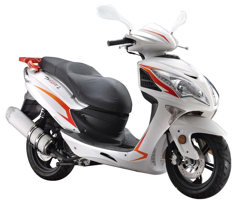 European Style 125cc 250cc Gasoline Scooter Motorbikes