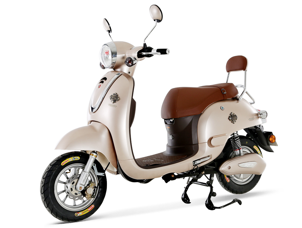 Retro Electric Scooter Lev012 Chinamotorscooter Com
