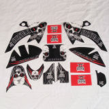 Crf50 Beautiful 3m Stickers for Dirt Bike Parts (DS001)