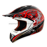 Open-Face Safety Motorcycle Helmet for Dirt Bike Riders (MH004)