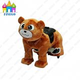 Plush Electric Family Indoor Teddy Bear Kiddy Riding Mobility Scooter