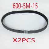 (2X) 600-5m-15 120teeth Electric Bike E-Bike Scooter Drive Belt Replacement Electric Scooter Parts