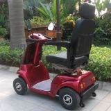 Four Wheel Electric Disabled Mobility Scooter with CE (DL24500-2)
