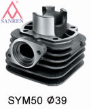 Cylinder And Piston For Scooter (SYM JET50)