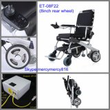 Lightest Electric Wheelchair CE Approved 8'' Brushless Wheelchair /E Power Wheelchair/Electric Folding Wheelchair with LiFePO4