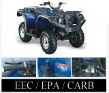 2008 Model Utility ATV 600cc 4WD / CVT - EPA / CARB Approved