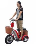 New Electric Tricycle Scooter/Zappy Scooter with Seat with: 500W, 48V/12ah LED-Acid Battery