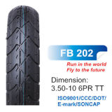 ISO/CCC/DOT Certified Motorbike Parts Scooter Tyre for 350-10