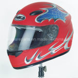 Red Color ABS Helmet/Full Face Helmet/Safety Helmet (AH014)