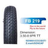 CE Certified Motor Part Bias Tyre, Scooter Tire 3.50-8