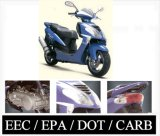 2008 Model 150cc Scooter / Moped EEC / EPA / CARB Approved