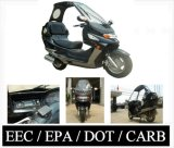 2008 Model 250cc Convertible Scooter EEC / EPA / CARB Approved