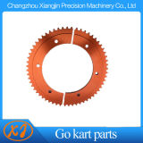 CNC Aluminium Anodized Race Kart Split 35 Sprocket