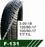 ISO9001: 2008 High Quality Motorcycle Tires and Tube of 110/90-17