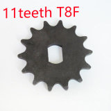 Electric Scooter 11 Tooth Sprocket T8f Chain Motor Engine Parts Motor Pinion Gear My1020
