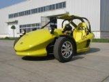Yellow Two Seats Tricycle Motorcycle ATV (KD 250MD2)