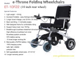 CE Approv 8'', 12'' 2- Second Folding Power Electric Wheelchair Electric Power Wheelchair, Ez Light Scooter, Brushless Wheelchair, E-Throne Folding Wheelchair