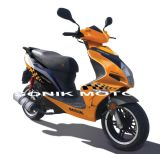 EEC Approved 50cc/125cc Gas Scooter, Scooter, Motor Scooter with 2-Stroke, F35