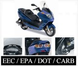 2008 Model European Design 300cc Scooter EEC / EPA / CARB Approved