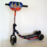 PVC Tire Three Wheel Carton Baby Mini Swing Kick Scooter