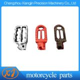CNC Aluminum Colourful Motorcycle Pedal Pad