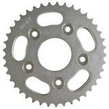 Motorcycle Sprocket/Rear Sprocket/Zinc/White