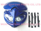 Motorcycle Parts-Ghost Face Headlight (LED) -Dirt Bike Headlight
