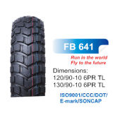 DOT E-MARK Motorcycle Parts Scooter Tire with High Quality