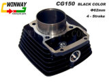 Ww-9107 Motorcycle Part, Cg150 Black Color Motorcycle Cylinder