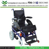 Steel Battery Powered Electric Wheelchair for Disability