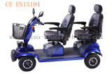 Double Seat Electric Mobility Scooter for Adults (LN-003)