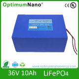 LiFePO4 36V 10ah Battery for 200W-500W E-Bike