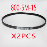 (2X) 800-5m-15 160teeth Electric Bike E-Bike Scooter Drive Belt Replacement Electric Scooter Parts