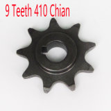 Electric Scooter 9 Tooth Sprocket Motor Engine Parts Motor Pinion Gear My1016z Fits Standard 410 Bicycle Chain