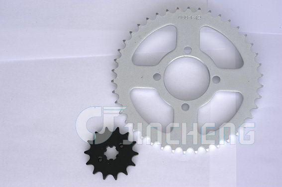 Jincheng Motorcycle Sprockets for Ax100